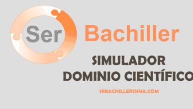 Ser Bachiller y su simulador Dominio Cientifico